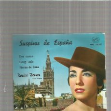 Discos de vinilo: ROSITA FERRER SUSPIROS DE ESPAÑA . Lote 147469990