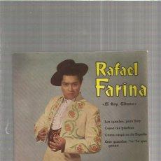 Discos de vinilo: RAFAEL FARINA LOS IGUALES. Lote 147470166