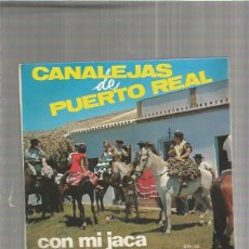 Discos de vinilo: CANALEJAS CON MI JACA. Lote 147471410