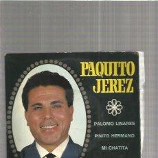 Discos de vinilo: PAQUITO JEREZ PALOMO. Lote 147471846