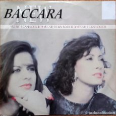 Discos de vinilo: NEW BACCARA, YES SIR I CAN BOOGIE - MAXI-SINGLE 1990 VERSION UK. Lote 147475598