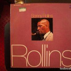 Discos de vinilo: SONNY ROLLINS- ROLLINS. LP DOBLE.. Lote 147482270