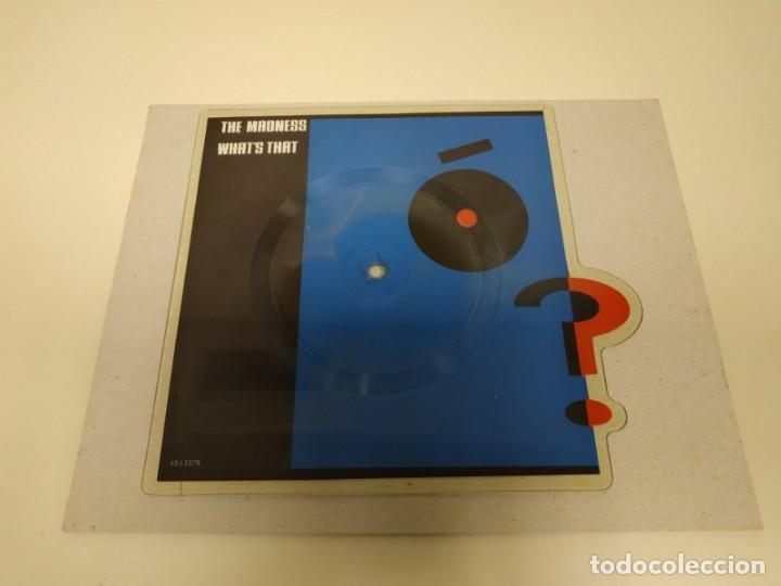Discos de vinilo: 1018- THE MADNESS WHATS THAT PICTURE SINGLE DISK 10 INCHES VG REF VSJ 1078 - Foto 1 - 147484134
