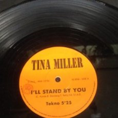 Discos de vinilo: TINA MILLER I'LL STAND BY YOU MAXI SINGLE. Lote 147486314
