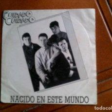 Discos de vinilo: DISCO DEL GRUPO CUIDADO CUIDADO ,NACIDO EN ESTE MUNDO. Lote 147486910