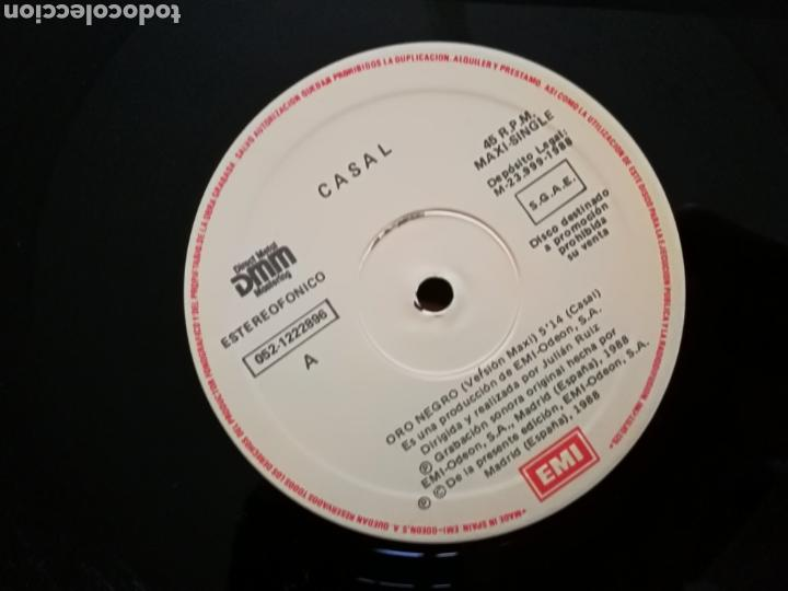 Discos de vinilo: TINO CASAL - ORO NEGRO / ELOISE .MAXI SINGLE PROMOCIONAL 12pulgadas. 1988 .RARO. - Foto 2 - 147491733