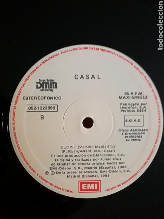 Discos de vinilo: TINO CASAL - ORO NEGRO / ELOISE .MAXI SINGLE PROMOCIONAL 12pulgadas. 1988 .RARO. - Foto 3 - 147491733