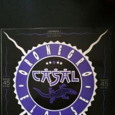 Discos de vinilo: TINO CASAL - ORO NEGRO / ELOISE .MAXI SINGLE PROMOCIONAL 12PULGADAS. 1988 .RARO.. Lote 147491733