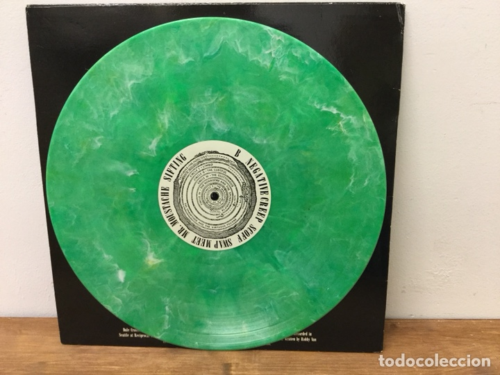 Discos de vinilo: ULTRA DIFICIL DISCO VINILO NIRVANA BLEACH US EDITION 1992 SUB POP SP34 VERDE MARMOL - Foto 6 - 147499508
