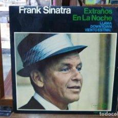 Discos de vinilo: FRANK SINATRA - EXTRAÑOS EN LA NOCHE / ¡LLAMA! - EP. DEL SELLO REPISE RECORDS 1966. Lote 147503598
