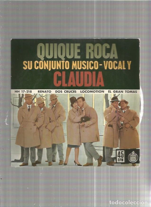 QUIQUE ROCA RENATO (Música - Discos - Singles Vinilo - Otros estilos)
