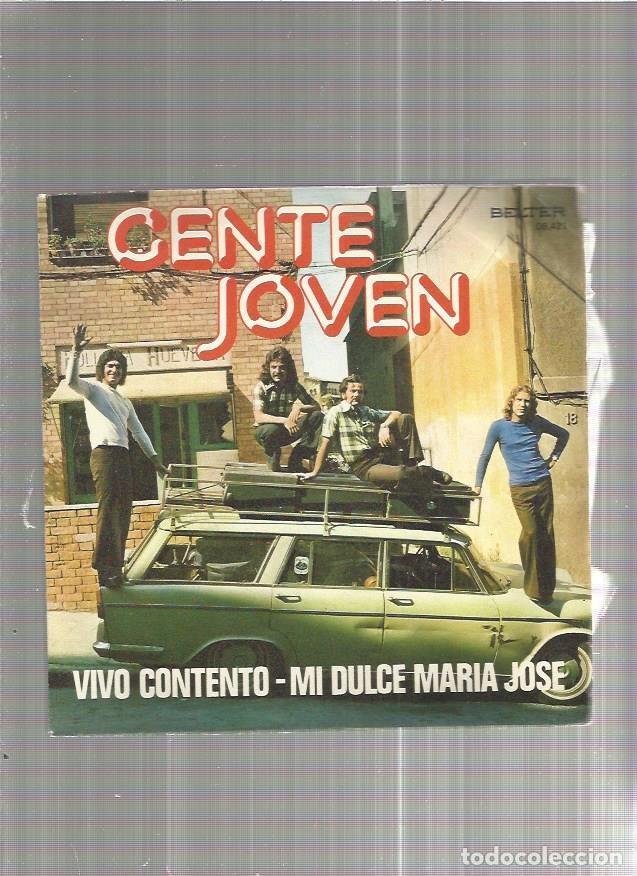 GENTE JOVEN VIVO CONTENTO (Música - Discos - Singles Vinilo - Otros estilos)