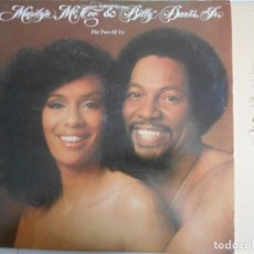 Discos de vinilo: MARILYN MCCOO AND BILLY DAVIS JR-LP THE TWO OF US. Lote 147507118