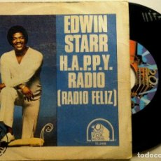 Discos de vinilo: EDWIN STARR - H.A.P.P.Y. RADIO / MY FRIEND - SINGLE ESPAÑOL 1979 - 20TH CENTURY FOX RECORDS. Lote 147510650