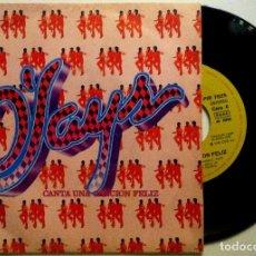Discos de vinilo: O'JAYS - CANTA UNA CANCION FELIZ / UNA (CHICA) EN UN MILLON - SINGLE ESPAÑOL 1979. Lote 147511422