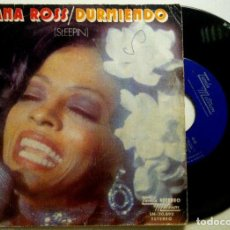 Discos de vinilo: DIANA ROSS - SLEEPING (DURMIENDO) / YOU (TU) - SINGLE ESPAÑOL 1974 - TAMLA MOTOWN. Lote 147512330