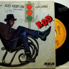 Discos de vinilo: ROD - JUST KEEP ON WALKING - SINGLE ESPAÑOL 1983 - RCA. Lote 147516450