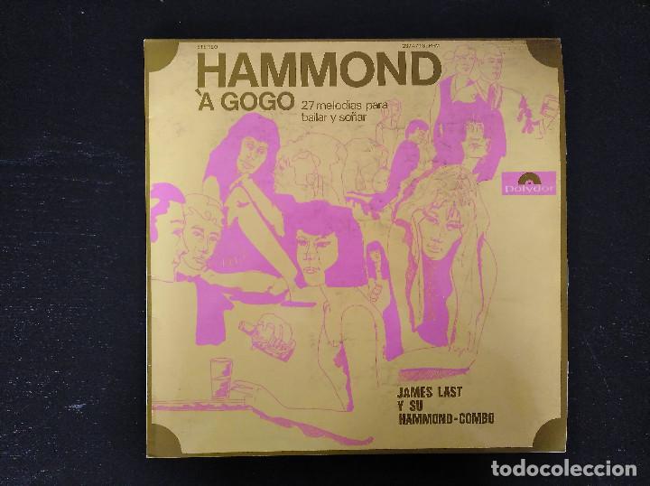 JAMES LAST - HAMMOND À GOGO - LP, POLYDOR - REF. 237 470 SLPHM (Música - Discos - Singles Vinilo - Jazz, Jazz-Rock, Blues y R&B)