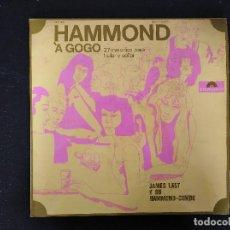Discos de vinilo: JAMES LAST - HAMMOND À GOGO - LP, POLYDOR - REF. 237 470 SLPHM. Lote 147525722