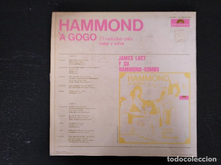 Discos de vinilo: James Last - Hammond À Gogo - LP, Polydor - Ref. 237 470 SLPHM - Foto 2 - 147525722