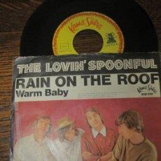 Discos de vinilo: THE LOVIN´ SPOONFUL `RAIN ON THE ROOF` . Lote 147460106