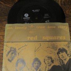 Discos de vinilo: THE RED SQUARES `MR. LONELY´ 1967 GARAGE-ROCK. Lote 147460354