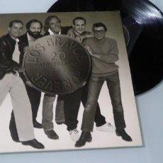 Discos de vinilo: LOS BRAVOS - FOREVER - 20 ANIVERSARIO ..LP DE 1986 - RCA - 10 GRANDES EXITOS. Lote 147538282