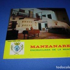 Discos de vinilo: GRUPO FOLKLORICO DE LA MANCHA EP SELLO BCD AÑO 1971 MANZANARES ENCRUCIJADA DE LA MANCHA. Lote 147538766