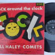 Discos de vinilo: BILL HALEY AND HIS COMETS - ORIG. LP USA PS - EX * ROCK AROUND THE CLOCK * DECCA DL 8225 * AÑO 1955. Lote 147541490