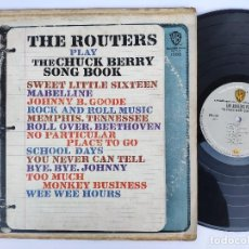 Discos de vinilo: THE ROUTERS - ORIG. LP MEXICO PS - PLAY THE CHUCK BERRY SONG BOOK . Lote 147541690