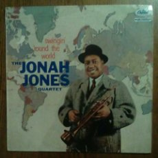 Discos de vinilo: THE JONAH JONES QUARTET - SWINGIN' 'ROUND THE WORLD, CAPITOL, 1958. FRANCE.. Lote 147551244
