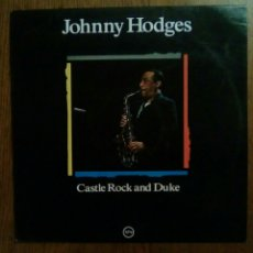 Discos de vinilo: JOHNNY HODGES - CASTLE ROCK AND DUKE, VERVE, 1988. SPAIN.. Lote 147551256
