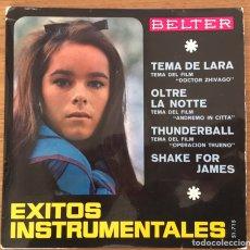Discos de vinilo: EXITOS INSTRUMENTALES EP BELTER MUY BIEN CONSERVADO. Lote 147560190