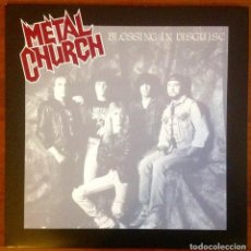 Discos de vinilo: METAL CHURCH - BLESSING IN DISGUISE. Lote 147560806