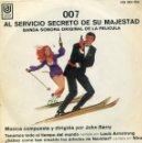 Discos de vinilo: 007 AL SERVICIO SECRETO DE SU MAJESTAD (BANDA SONORA) EP 1969. Lote 147561182