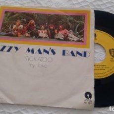 Discos de vinilo: SINGLE (VINILO) DE DIZZY MAN´S BAND AÑOS 70. Lote 147561326