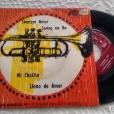 Discos de vinilo: E P (VINILO) DE GRUPO ESTUDIO BARTO AND BARCO AND BATO AÑOS 60 ( MUY RARO). Lote 147561630
