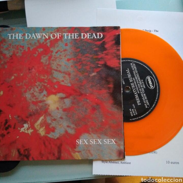 SEX SEX SEX – THE DAWN OF THE DEAD (Música - Discos - Singles Vinilo - Punk - Hard Core)