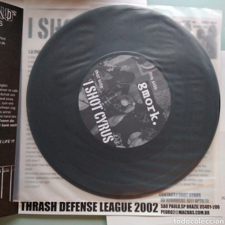 I SHOT CYRUS / GMORK – I SHOT CYRUS / ALFRED HITCHCOCK (Música - Discos - Singles Vinilo - Punk - Hard Core)
