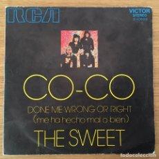 Discos de vinilo: THE SWEET CO-CO EDIC ESPAÑA RCA AÑO 1971 BIEN CONSERVADO. Lote 147562674
