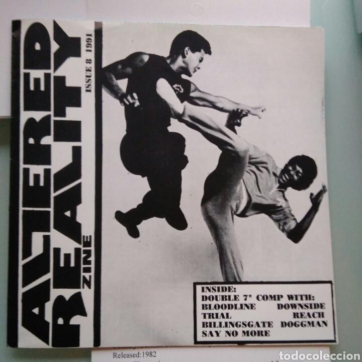 ALTERED REALITY ZINE ISSUE 8 1991 (TAKEOVER RECORDS, 2XSINGLE, US, 1991) (Música - Discos - Singles Vinilo - Punk - Hard Core)