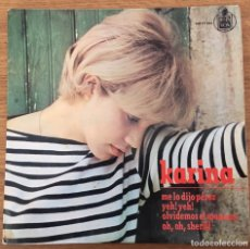 Discos de vinilo: KARINA EP HISPAVOX AÑO 1965. Lote 147563838
