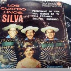 Discos de vinilo: E P ( VINILO) DE LOS CUATRO HERMANOS SILVA AÑOS 60. Lote 147564958