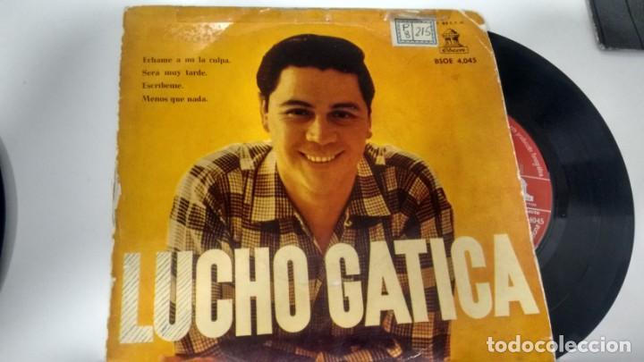 E P (VINILO) DE LUCHO GATICA AÑOS 50 (Música - Discos - Singles Vinilo - Grupos y Solistas de latinoamérica)