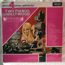 Discos de vinilo: RONNIE ALDRICH AND HIS TWO PIANOS TWO PIANOS IN HOLLYWOOD 1967. Lote 147565874