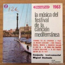 Discos de vinilo: CONJUNTO INSTRUMENTAL MIGUEL DOCHADO EP DISCOPHON AÑO 1963. Lote 147569610