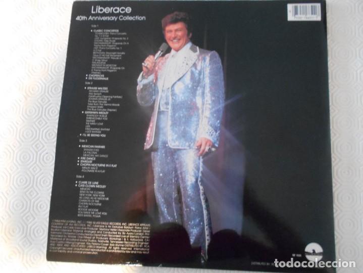 Discos de vinilo: LIBERACE. WITH THE LONDON PHILHARMONIC ORCHESTRA. DOBLE LP VINILO. - Foto 2 - 147570950
