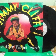 Discos de vinilo: JIMMY CLIFF - SAVE OUR PLANET EARTH LP 1990. Lote 147571070