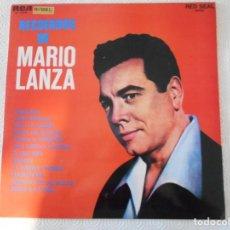 Discos de vinilo: RECUERDOS DE MARIO LANZA. LP VINILO CON 12 CANCIONES.. Lote 147571554