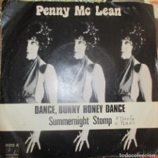 Discos de vinilo: PENNY MCLEAN - DANCE BUNNY HONEY DANCE - SINGLE 1977. Lote 147574366